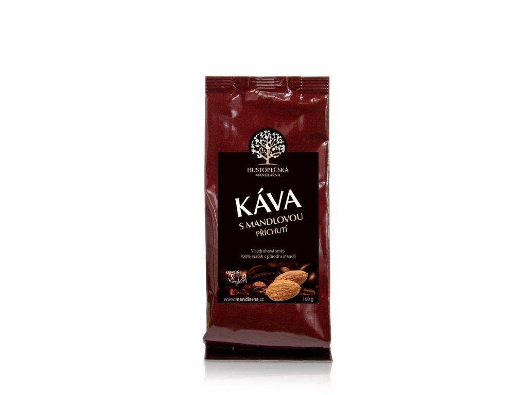 Káva s mandlovou příchutí - mletá 100g