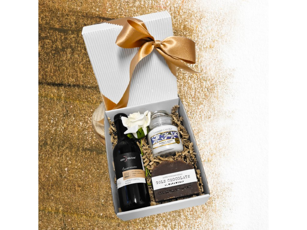 kosmeticky balicek 05 gold chocolate barva