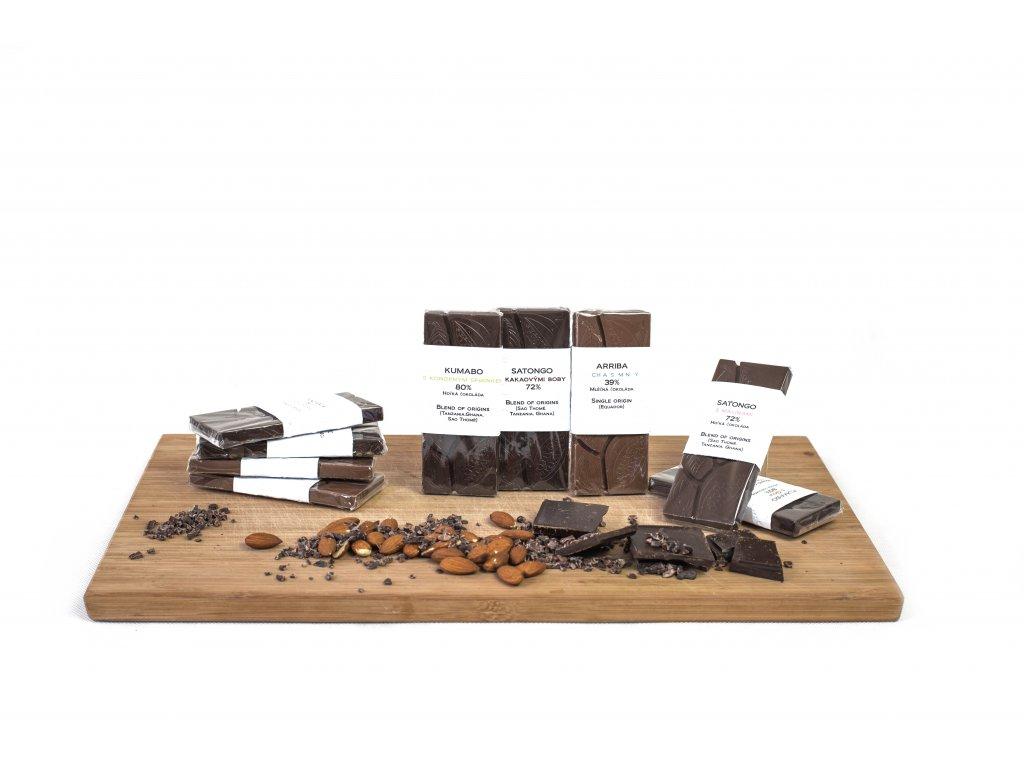 Dárkový koš Česko Čokoláda