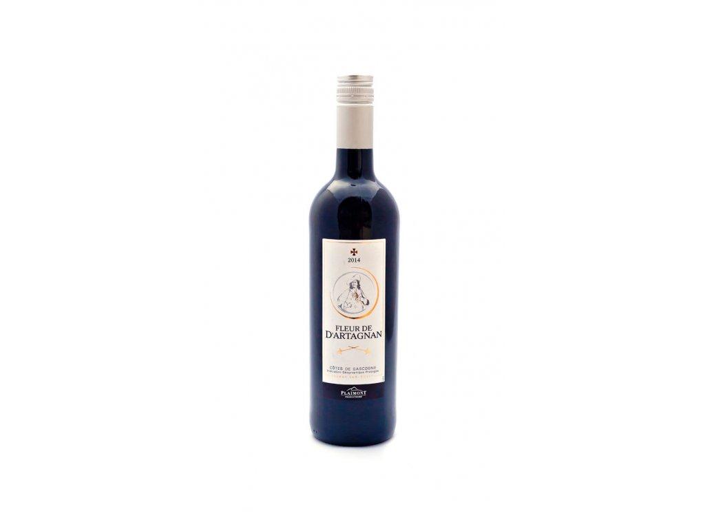 Fleur de D'artagnan Rouge, červené víno 0,75l