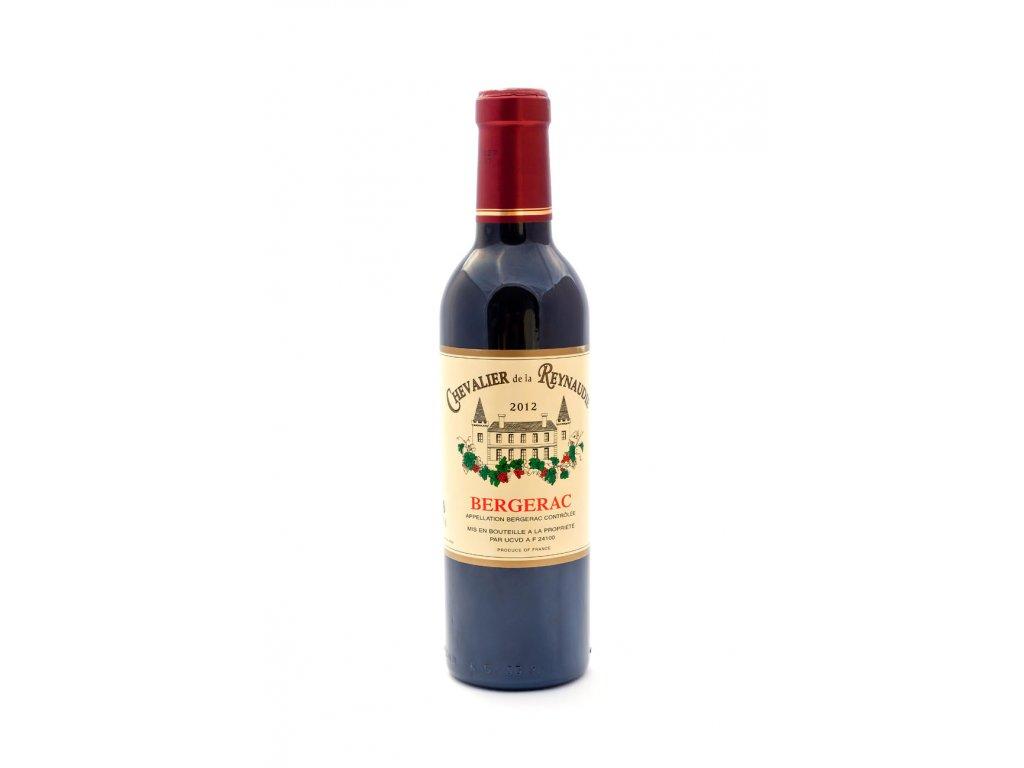 """Chevalier de la Reynaudie"""", Bergerac, Francie, červené víno 0,375l"""
