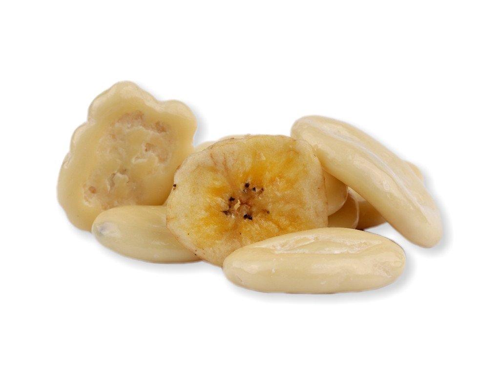 banán v jogurtu