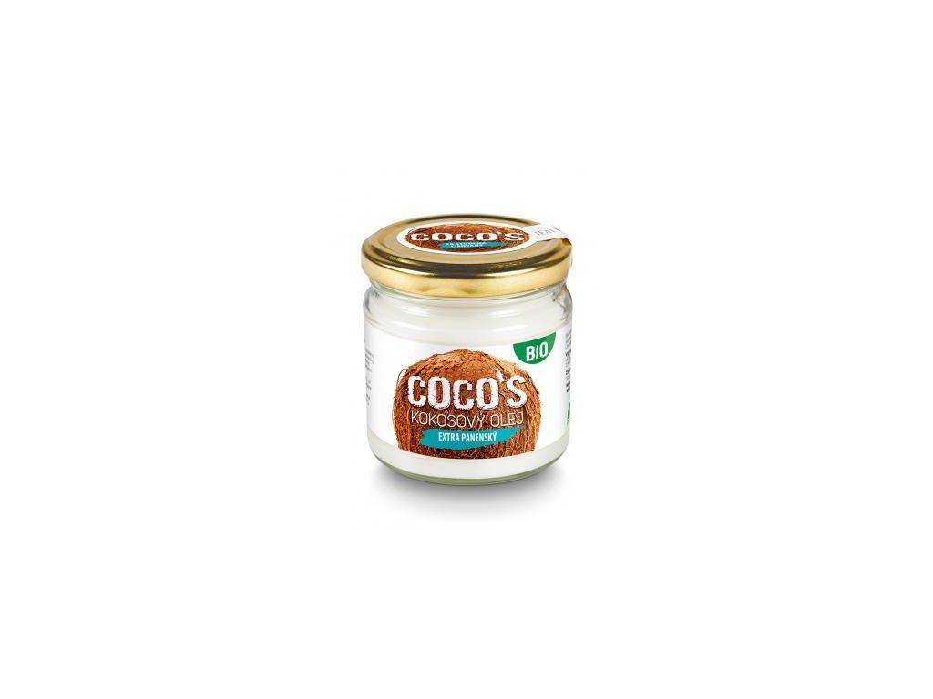 BIO Extra panenský kokosový olej 200ml