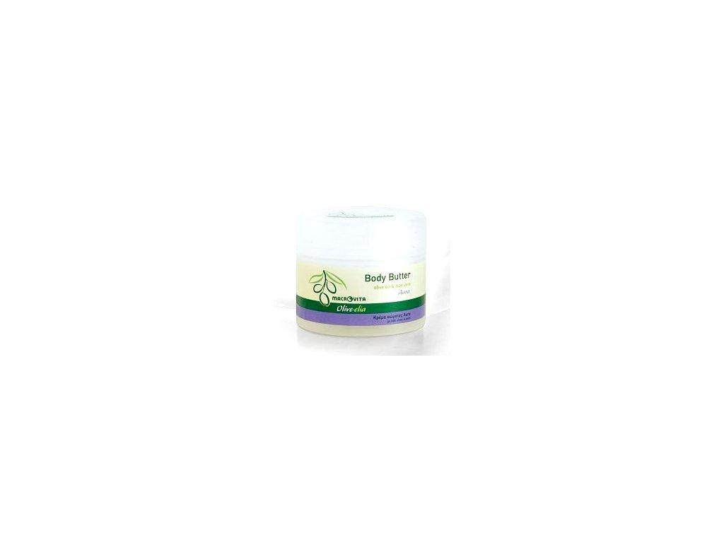 Tělové máslo Aura s BIO olivovým olejem & BIO Aloe Vera 200ml