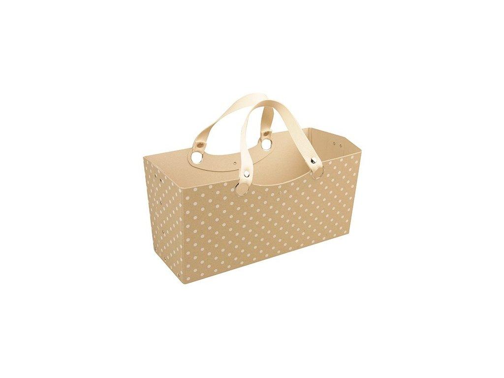 Dárková nákupní taška přírodní