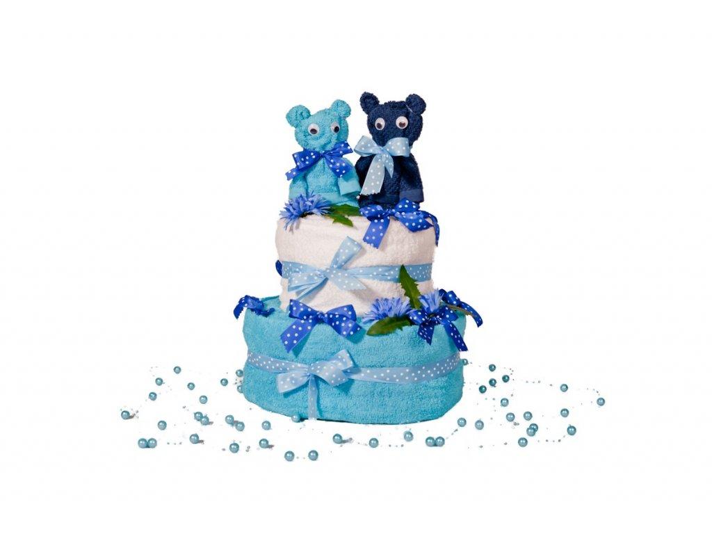 Plenkový dort Medvídci