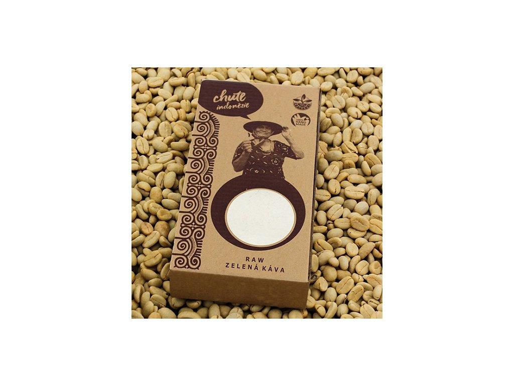 RAW Zelená káva 250g