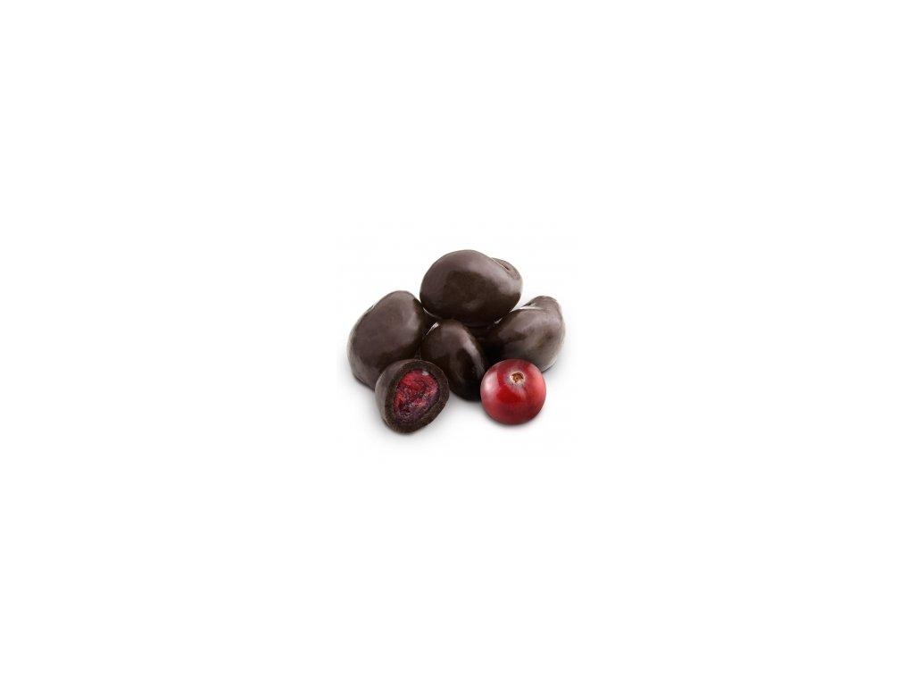 Brusinky v hořké čokoládě 1 kg