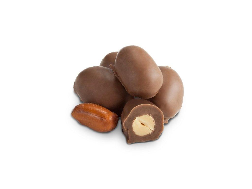 Arašídy v mléčné čokoládě 1 kg