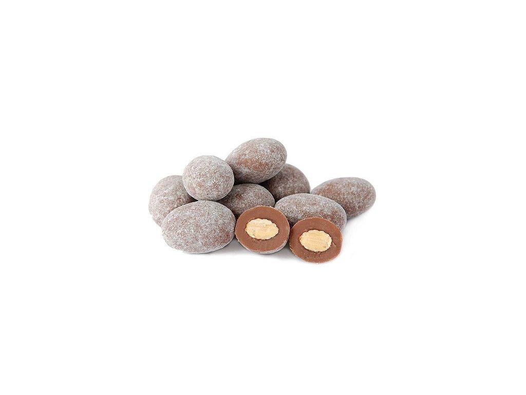 Mandle v mléčné čokoládě s cukrem 1 kg