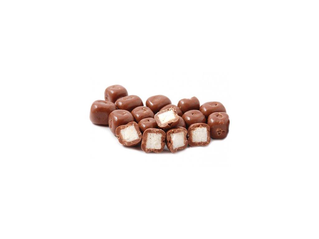 Kokosové kostky v mléčné čokoládě