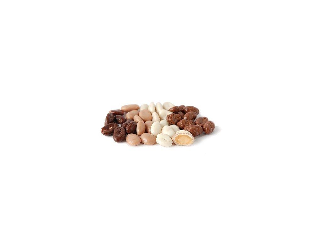 Arašídy tříbarevné 1 kg