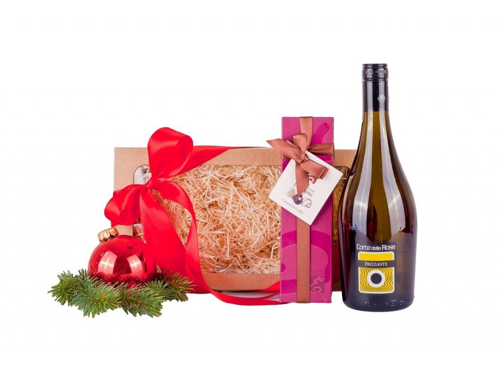Dárkový koš Vánoce Frizzante