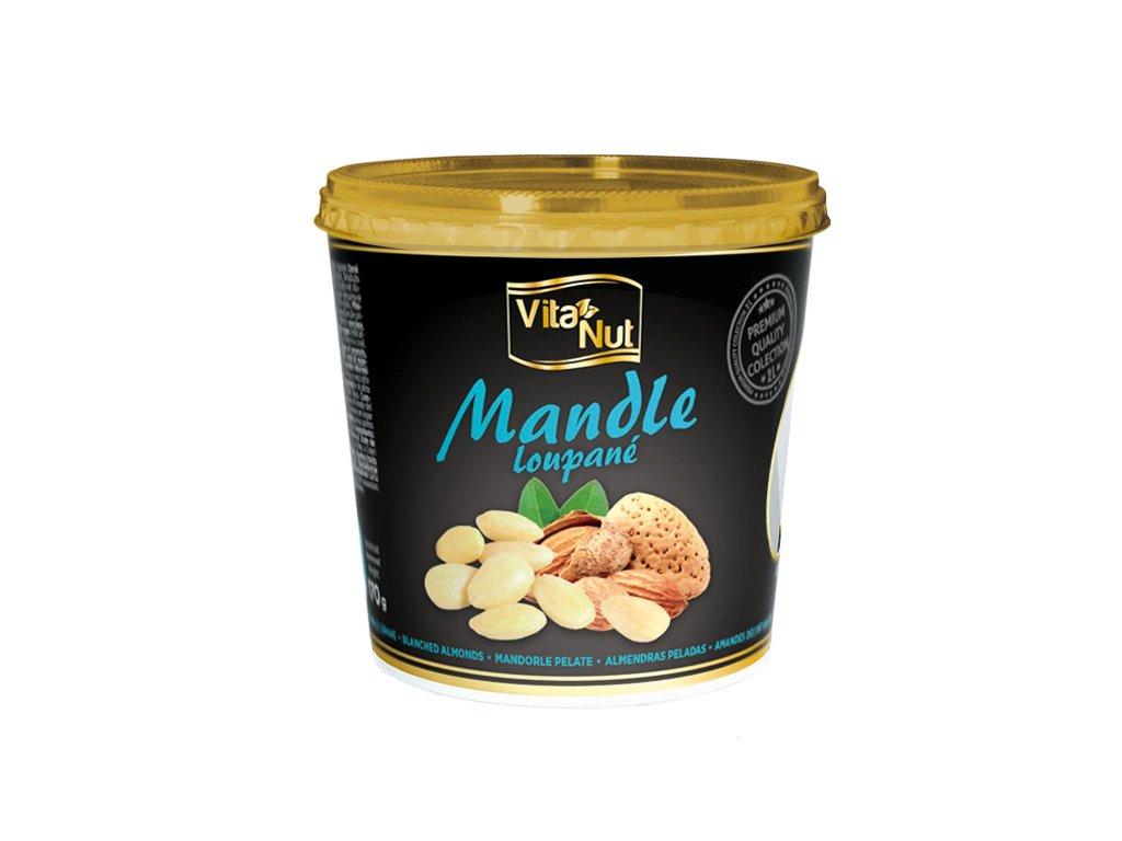 VitaNut Mandle loupané 170g