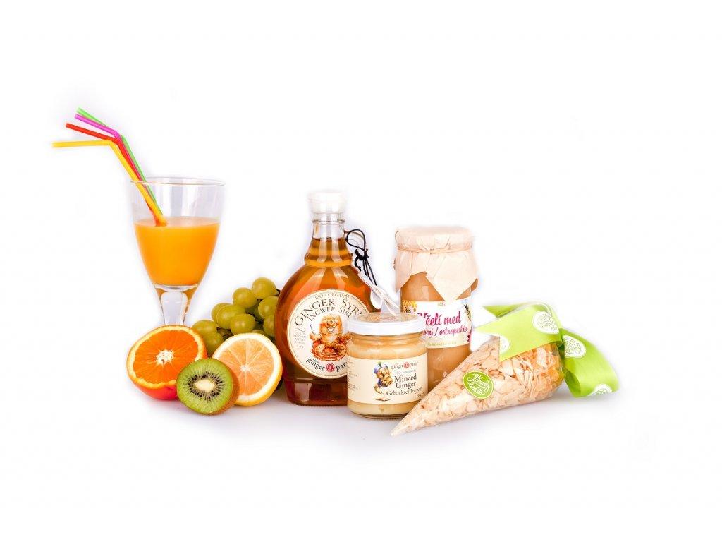 Vitamínový balíček Zázvor