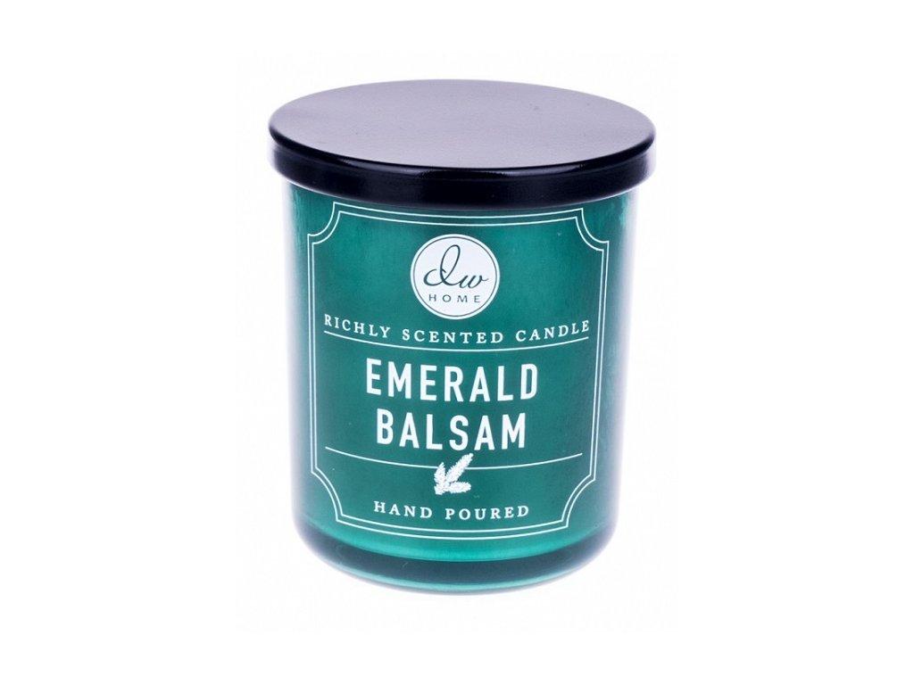 Vonná svíčka ve  skle Smaragdový les Emerald balsam 3,9 OZ