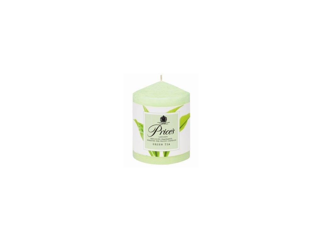 Svíčka válcová Zelený čaj 260g