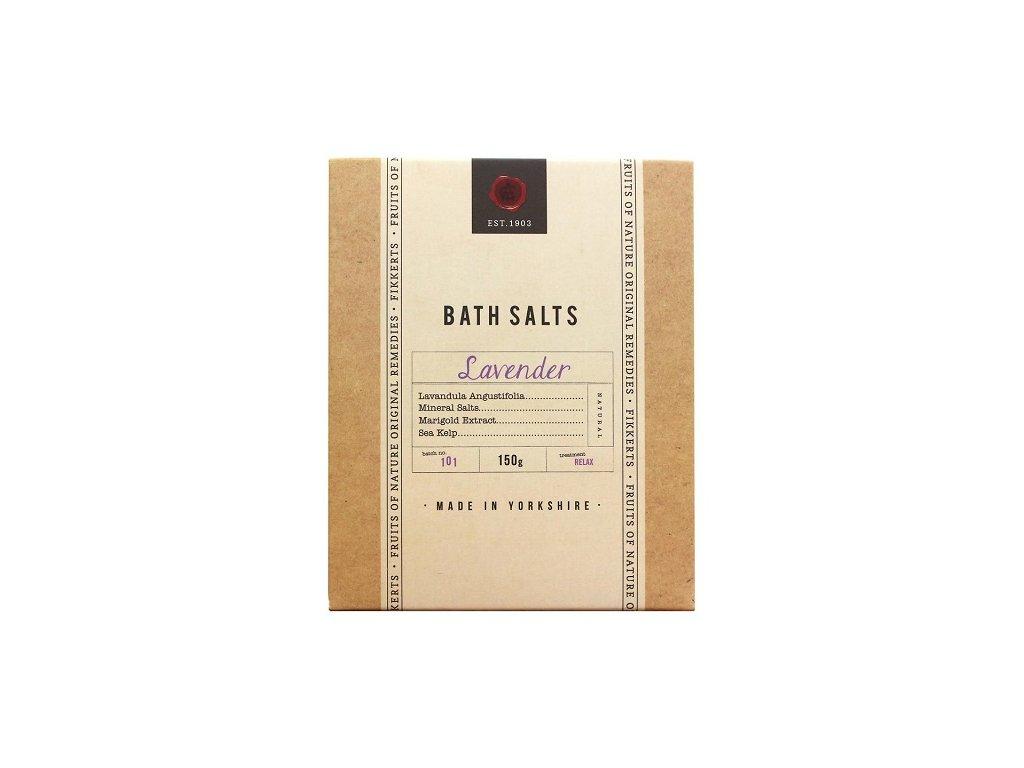 Fikkerts koupelová sůl Levandule 150g
