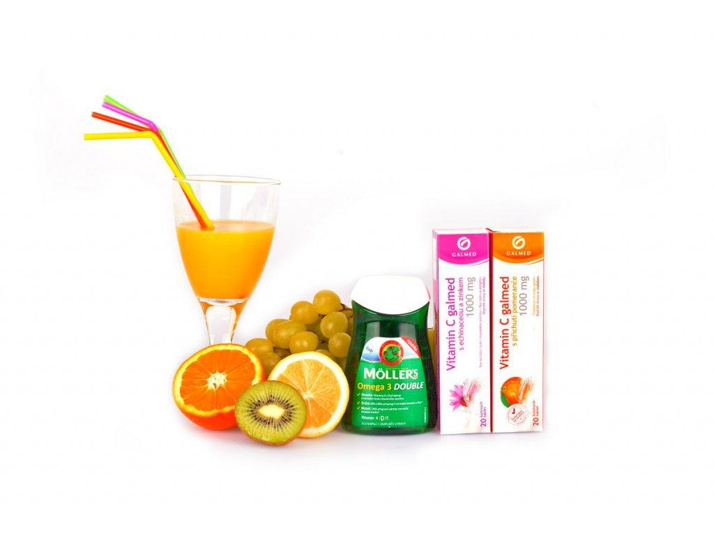 Vitamínový balíček A,B,C,D,E