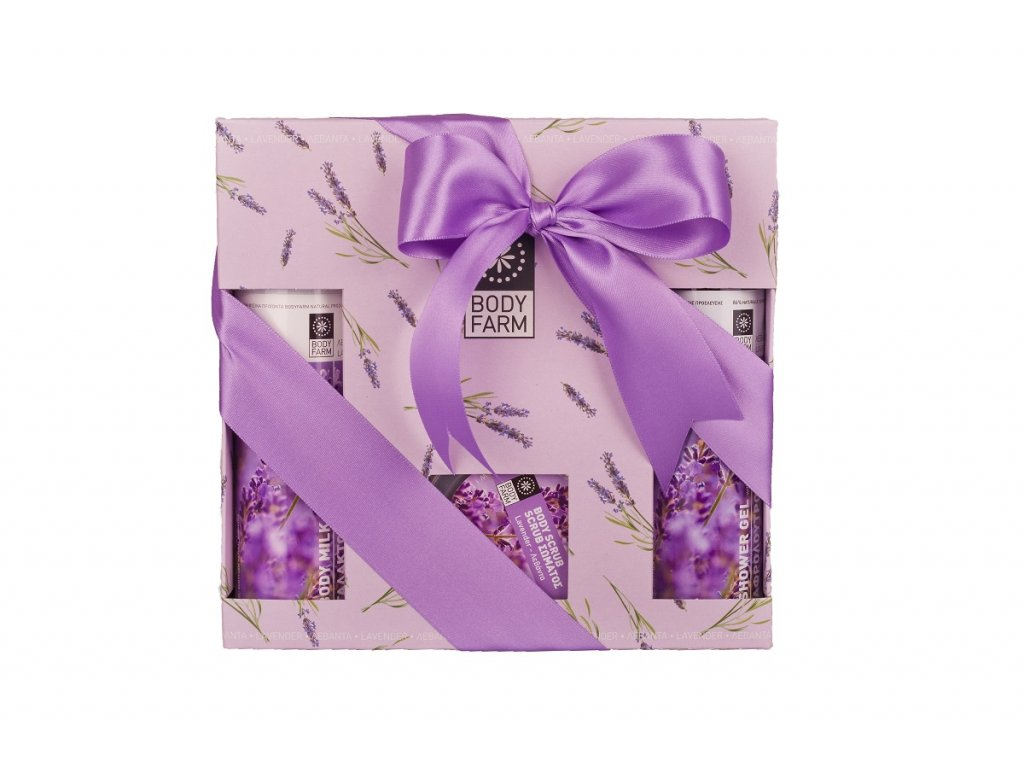 Dárkový kosmetický balíček Levandule