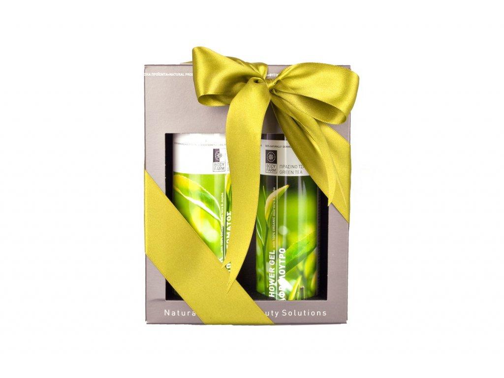 Dárkový kosmetický balíček Zelený čaj