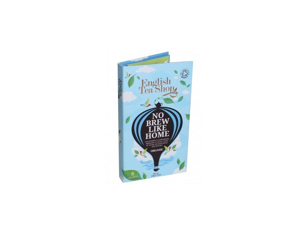 Modré dárkové cestovní balení sáčků pro muže bio English Tea Shop 13,5g