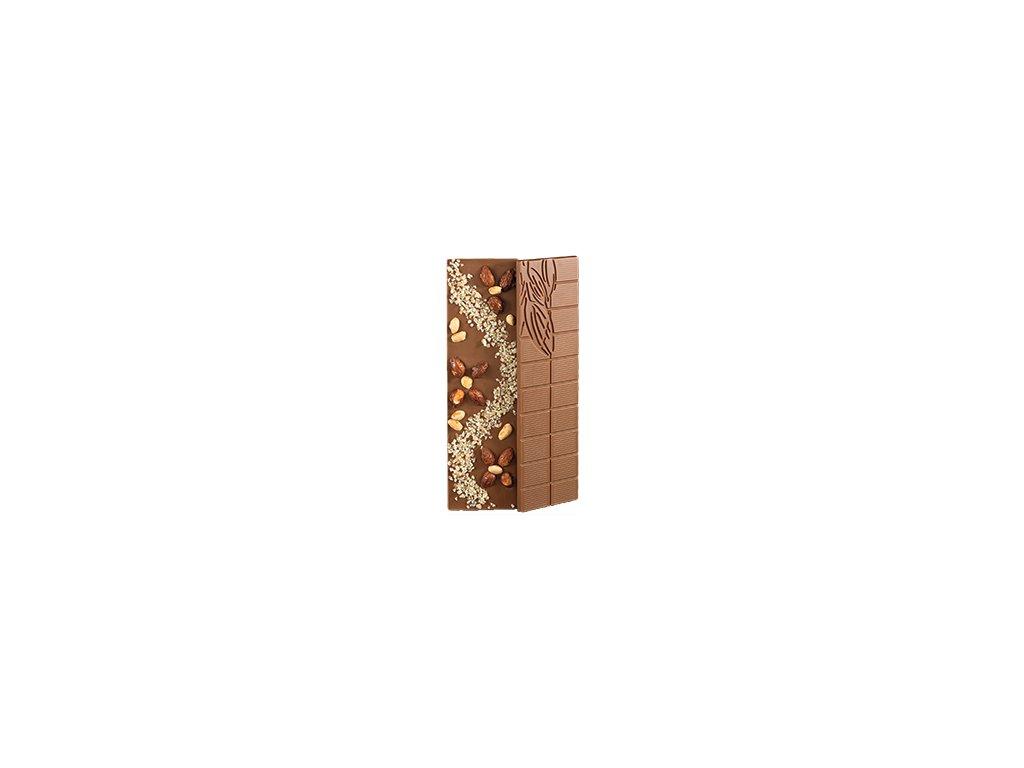 Čokoláda Citrón & Oříšky 100g
