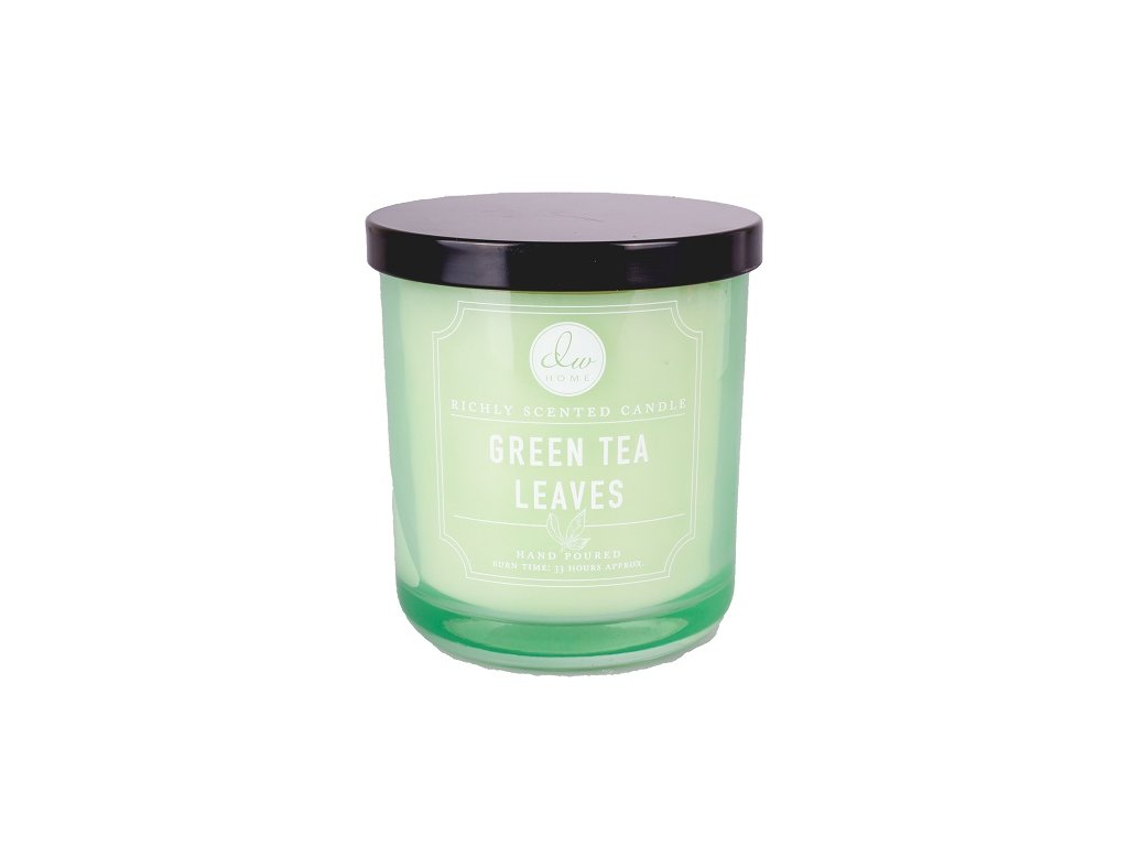 Vonná svíčka ve skle Zelený čaj - Green Tea Leaves 9,7oz