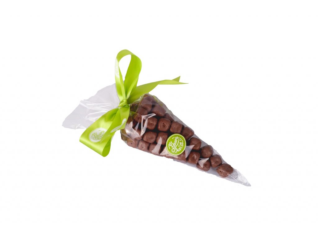 Kornout Kokos kostky v mléčné čokoládě 300g
