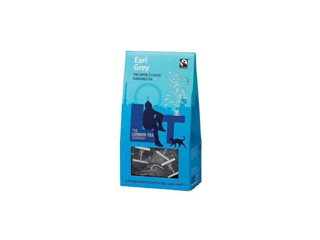 Fairtrade černý čaj pyramidový Earl Grey 15ks