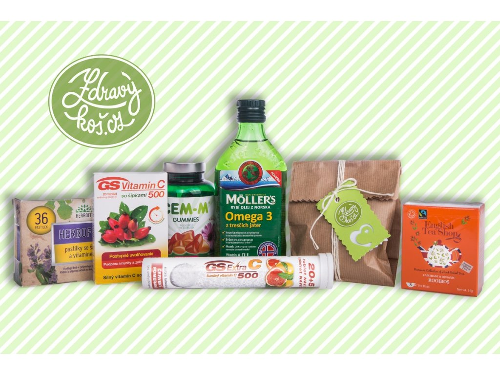 Vitamínový balíček Podpora zdraví