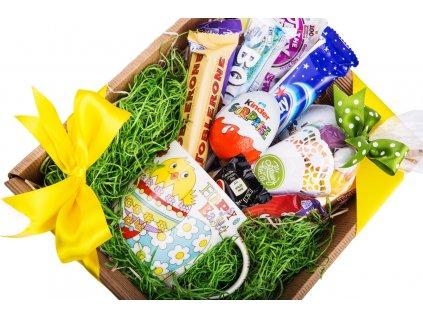 Velikonoční dárkový koš Happy Easter