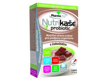 Nutrikaše probiotic s čokoládou 3x60g 8595054901387