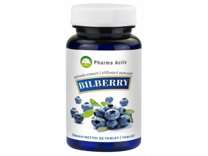 980 bilberry 55 tablet