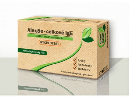 Alergie celklové IG CZ