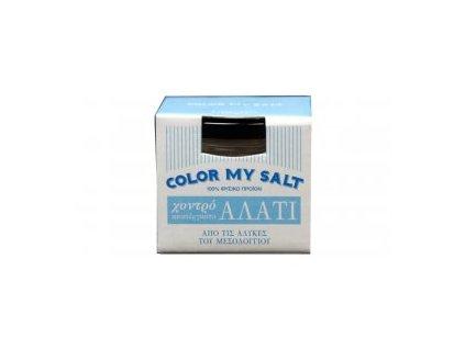 sůl, modrá