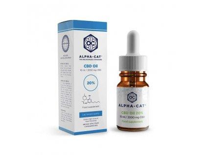 Alpha Cat Oil 20 and box 10 ml 1000