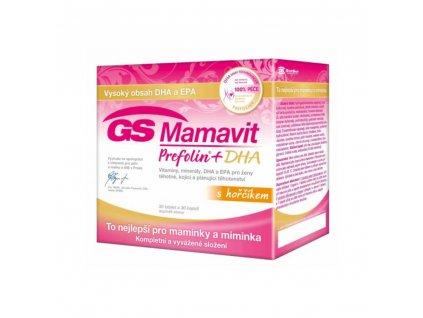 GS Mamavit Prefolin DHA 30 tablet 30 kapsli