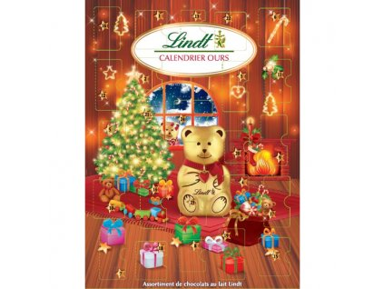 teddy lindt adventni kalendar