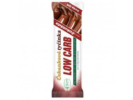 4slim cekankova tycinka low carb cokolada