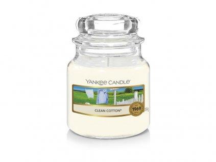 Yankee Candle Clean Cotton vonná svíčka 104g