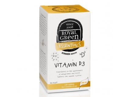 royal green vitamin d3 120tablet