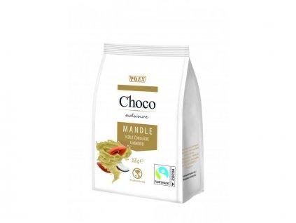 Mandle v bílé čokoládě a kokosu 150g