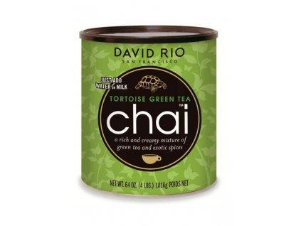 david rio tortoise green tea chai gastro doza 1814 g