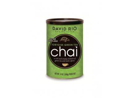 david rio tortoise green tea chai doza 398 g bateriovy napenovac mleka jako darek