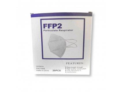 Respirátor FFP2 balení 20 ks