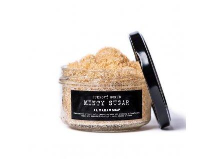 Almarasoap Minty Sugar Scrub na tělo 140 g