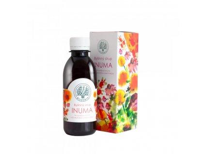 es707 bilegria inuma bylinny sirup na podporu imunity s echinaceou a rakytnikem 200 ml
