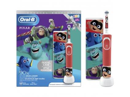 Kartáček Oral-B Vitality D100 Pixar s cestovním pouzdrem
