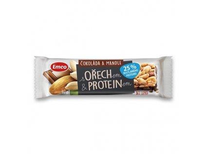 emco protein čokoláda mandle